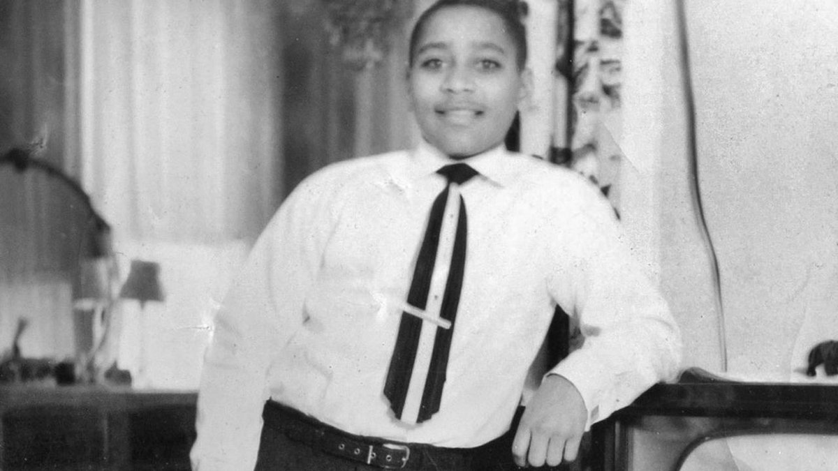 "Women's March on Twitter: ""62 years ago today, 14-year-old #EmmettTill was  brutally murdered by 2 white men in Mississippi. His death ignited the  Civil ..."