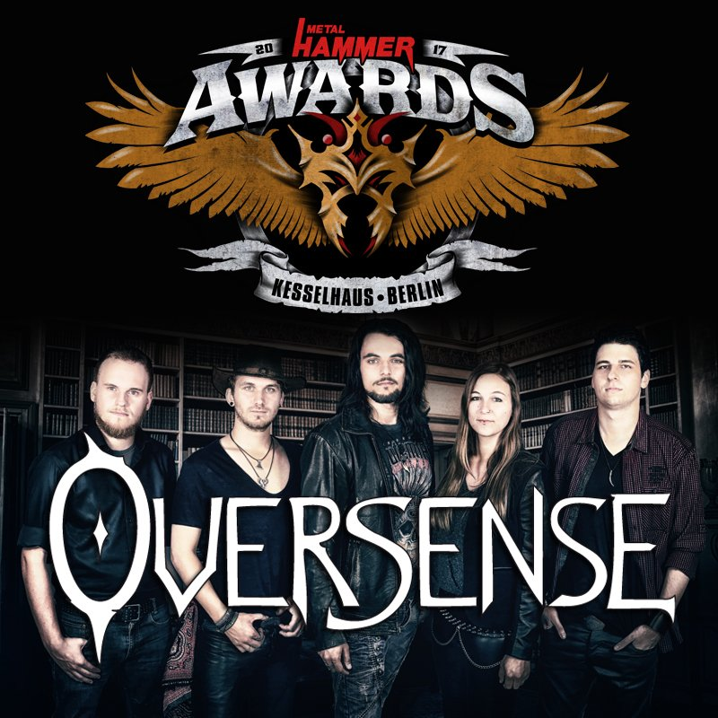 Oversense Win The Metal Hammer Awards Band Contest 2017