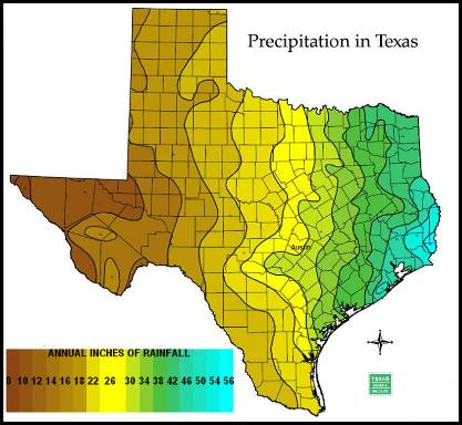Txsthistassoc On Twitter This Map Of Average Annual