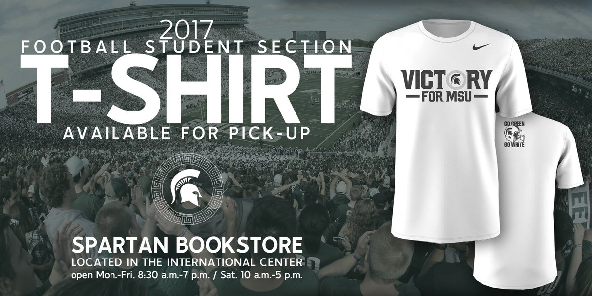 Michigan State Football On Twitter Student Section Shirts