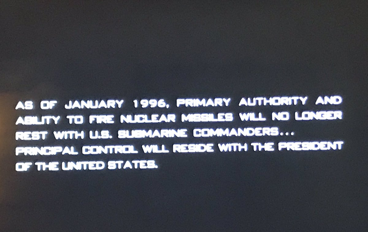 It's funny that this tag at the end of CRIMSON TIDE was originally put there to be comforting https://t.co/yX40cfY2dB