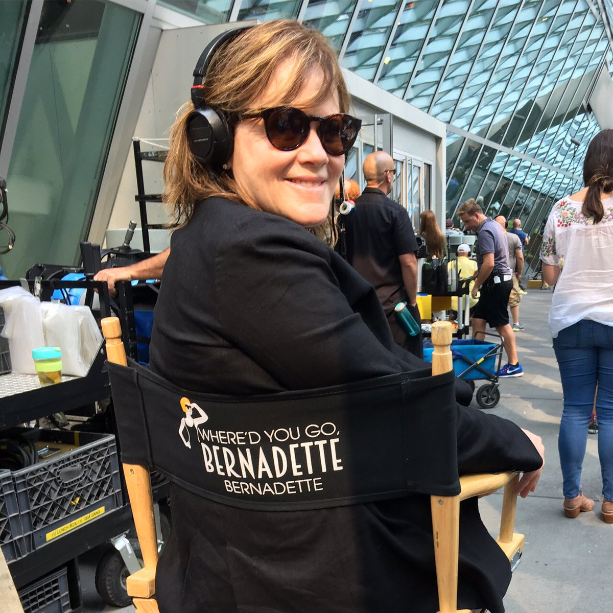 #Seattle! Bernadette has landed...