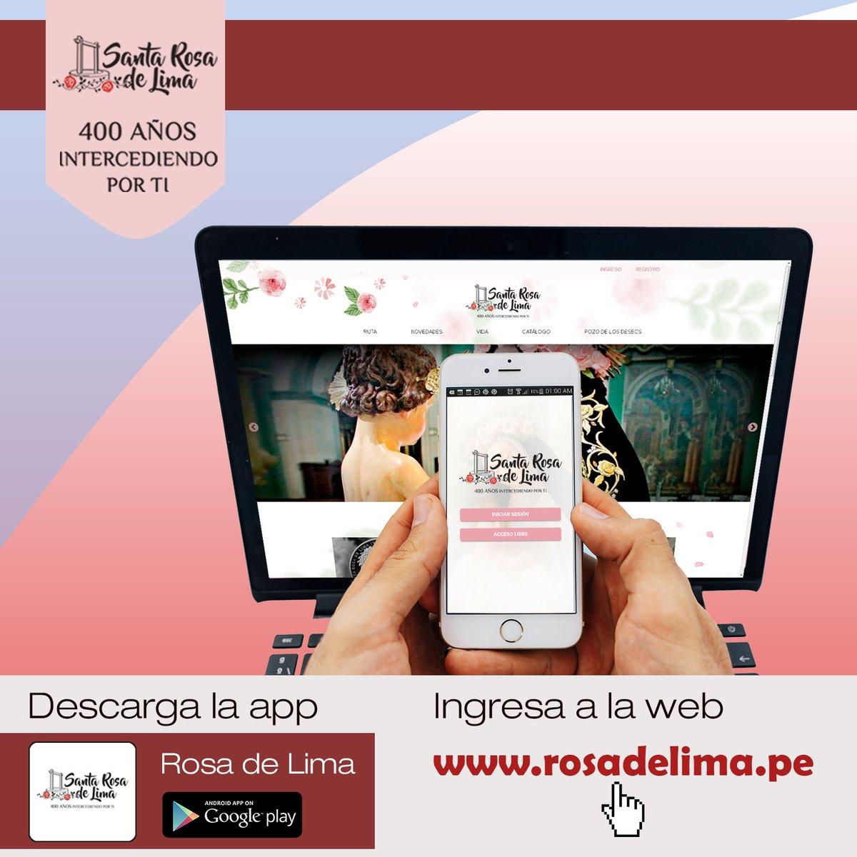 Resultado de imagen para santa rosa de lima app
