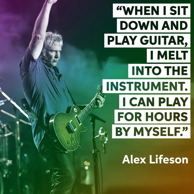 Happy 64th birthday to Alex Lifeson!