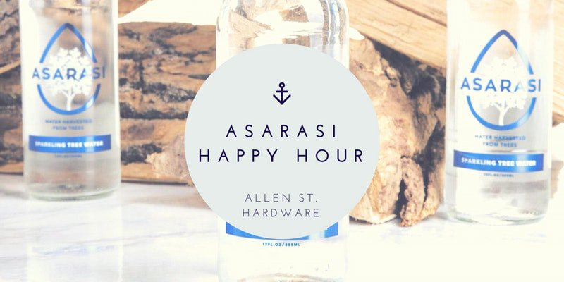 Happy hour Friday? Come support a startup in Buffalo and enjoy some cocktails. RSVP: eventbrite.com/e/asarasi-happ…