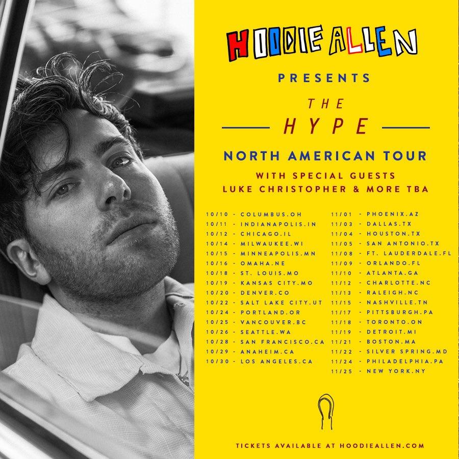Hoodie allen tours