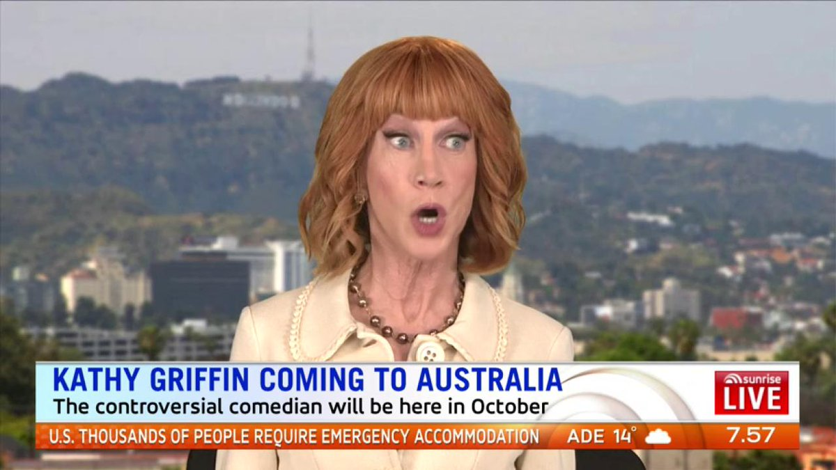 ". @KathyGriffin: ""I'm no longer sorry. The whole outrage was BS. The whole thing got so blown out of proportion."" https://t.co/5PxNrQ2VSk"