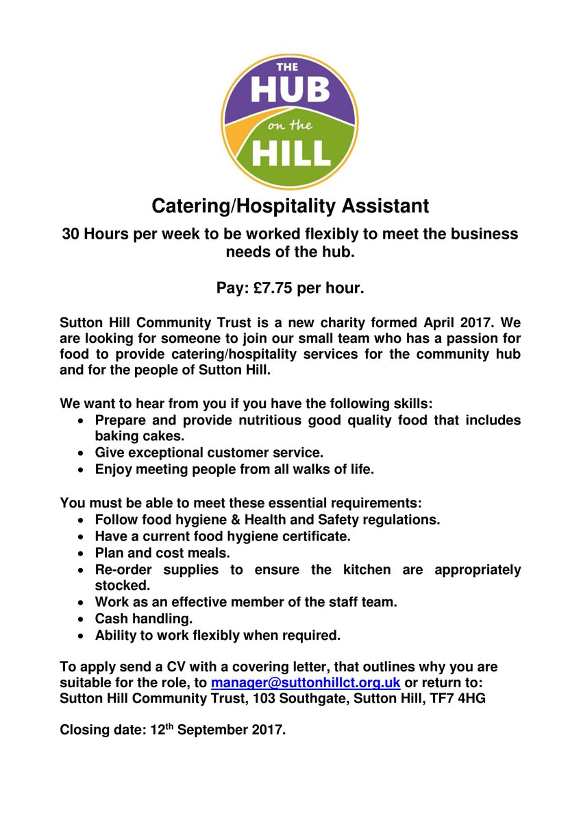 The Hub The Hill On Twitter JobOpening Passion For