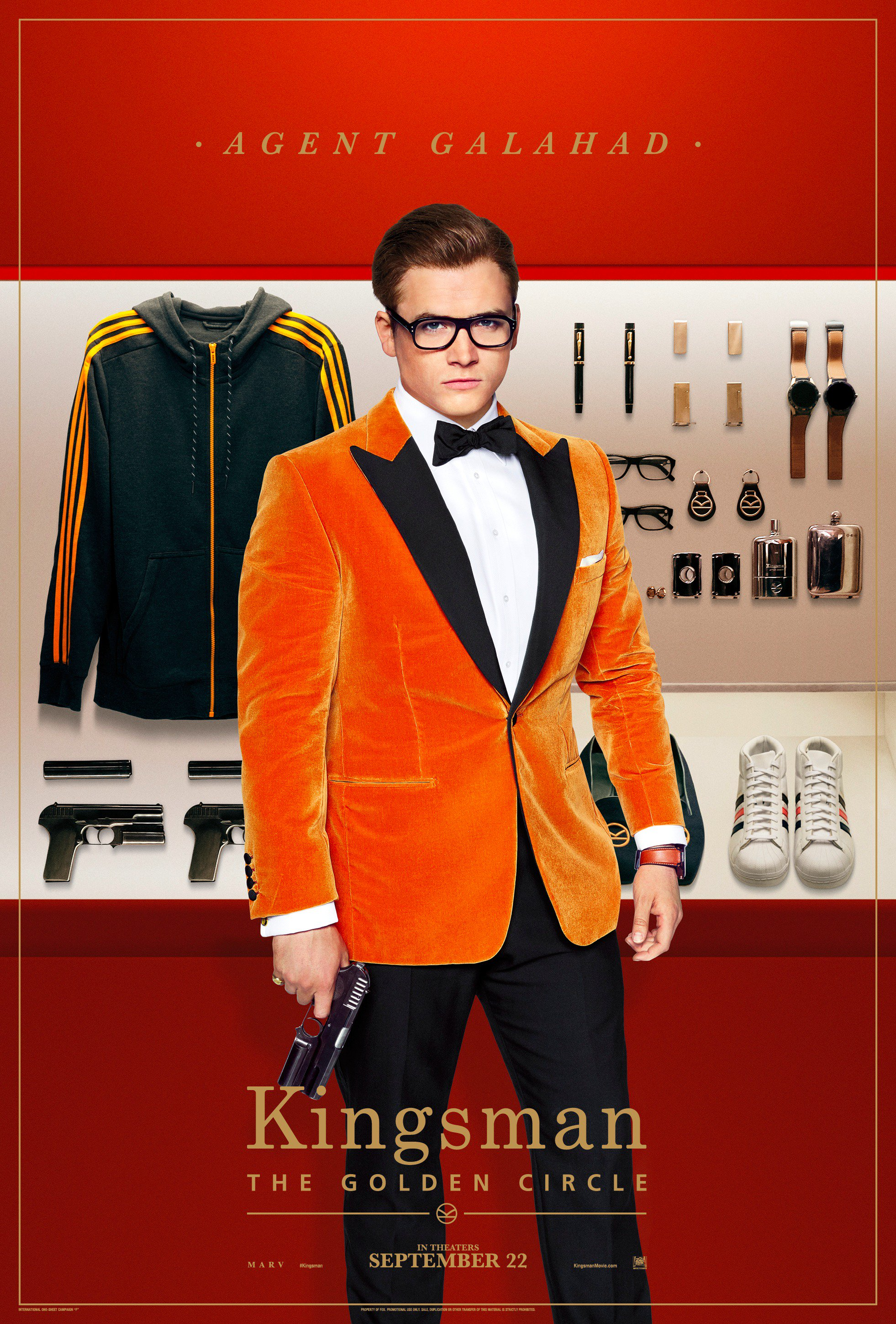 Kingsman Golden Circle karakterposters Agent Galahad