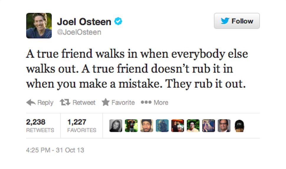 Still the best @JoelOsteen tweet https://t.co/2VUwT0Vnn0
