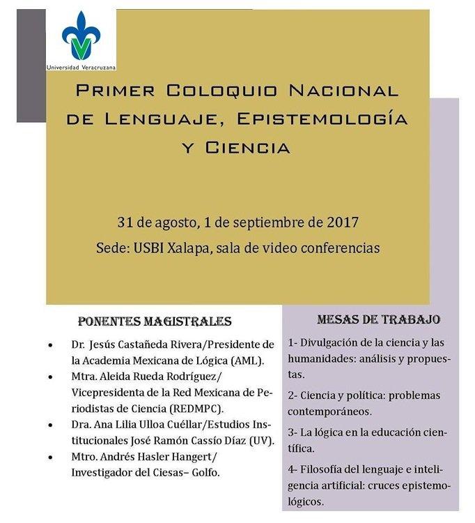 Resultado de imagen para USBI, sede del Coloquio Nacional de  Lenguaje, Epistemología y Ciencia