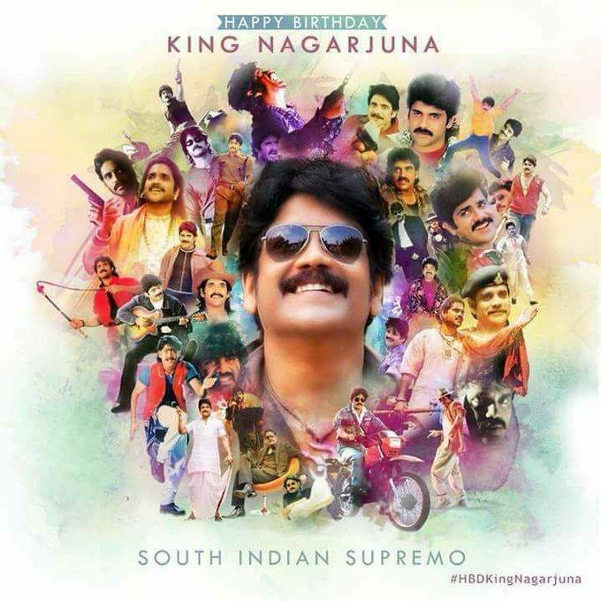 Happy Birthday King Nagarjuna Akkineni. Keep going with good work.