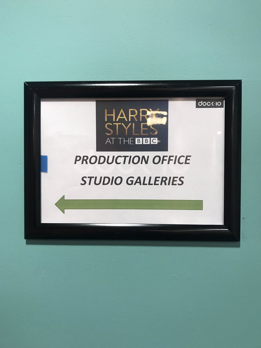 Good morning. It seems we're in good company at our studios in @MediaCityUK #HarryStylesAtTheBBC https://t.co/5DgOuUeWcP