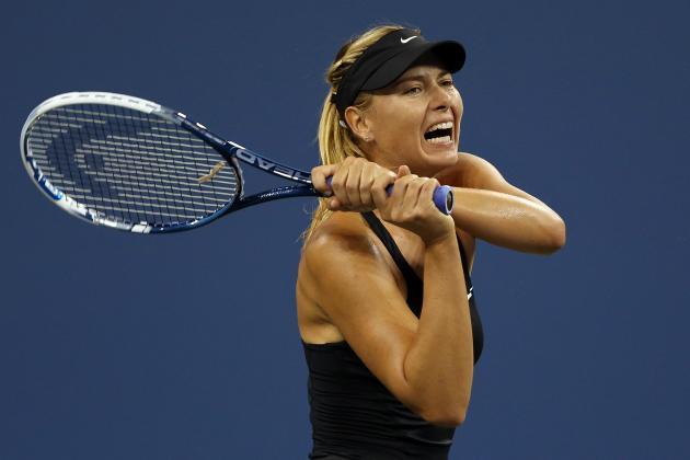Şarapova son 2 ildə ilk dəfə top-5-dən olan tennisçini məğlub etdi