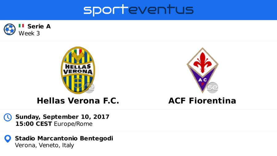 Don&#39;t miss #HellasVeronaFC  #acffiorentina  September 10th 15:00 CEST  #SerieA_TIM   Buy #tickets in-app   http:// sportevent.us/twev218724  &nbsp;  <br>http://pic.twitter.com/13xSFu31sO