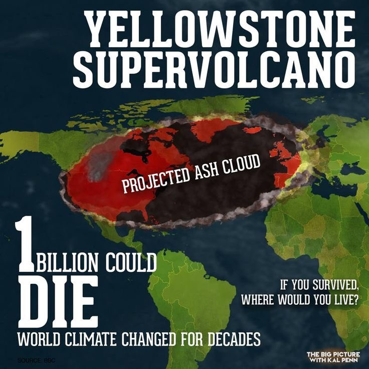 RT @inabster: #Yellowstone Caldera Super Volcano: Projected Eruption Maps, Survival & Casualty Maps https://t.co/dWolSpWqUG https://t.co/n4…