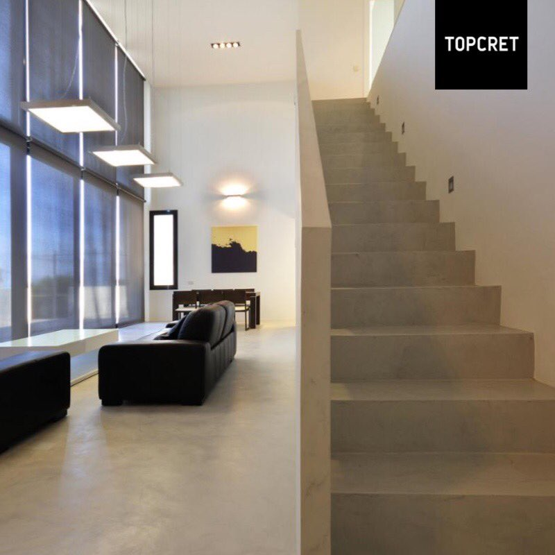Topcret Creates A Trend In The World Of Interior Design With Development Its Materials For Floors BAXAB Bitly T Baxab Pictwitter