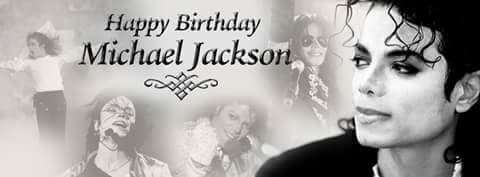 Happy 59th birthday to my all time idol Michael Jackson.  xx