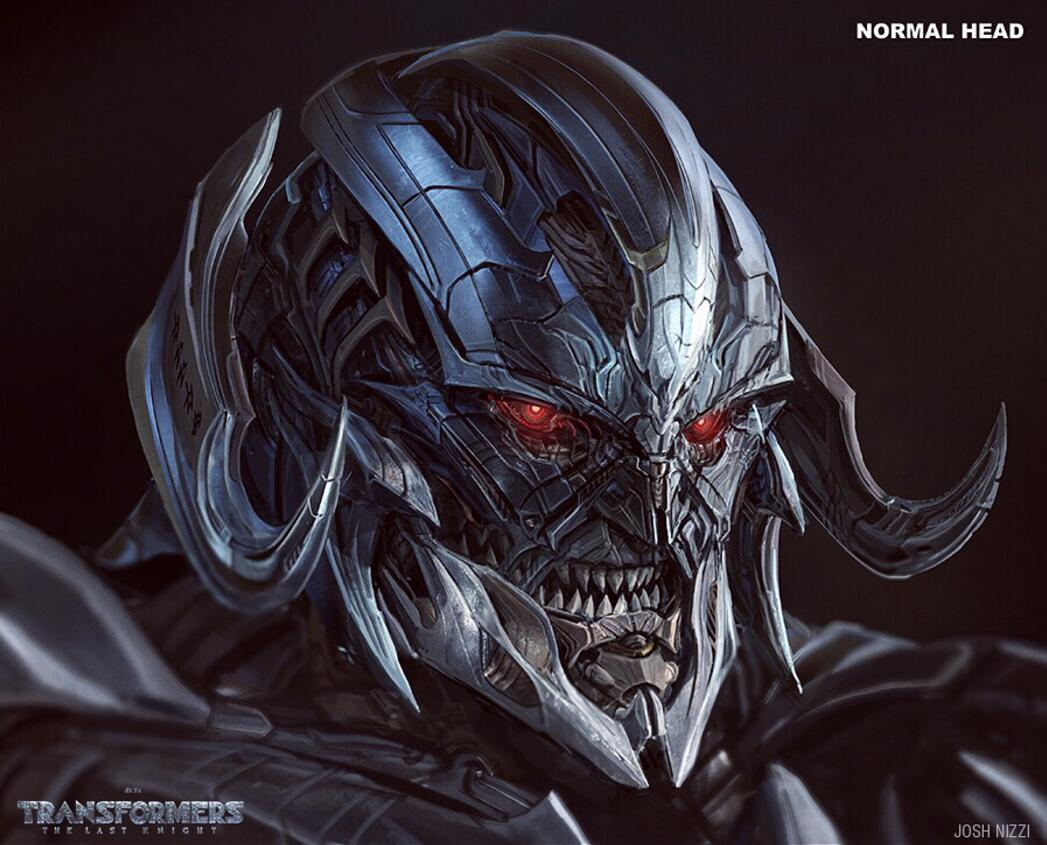 capcomkai on twitter tf5 tlk megatron face concept art by josh