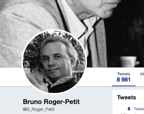 Bruno Roger-Petit, qui assume tout, est en train de supprimer tous ses tweets (37.000 ce matin)