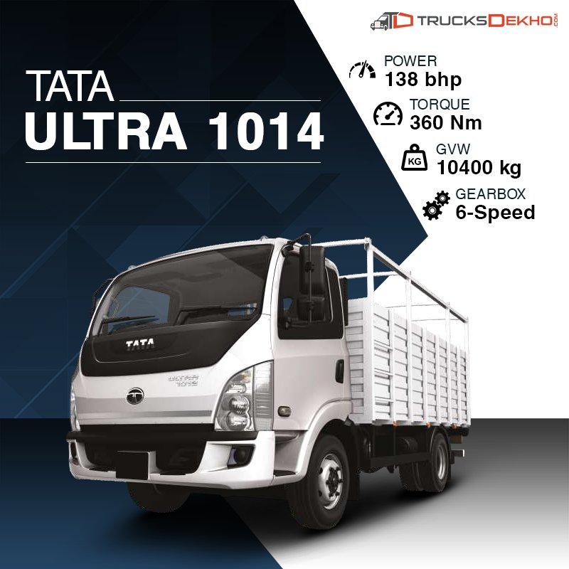 Trucksdekho On Twitter Tata Ultra 1014 Offers Best In Class Power