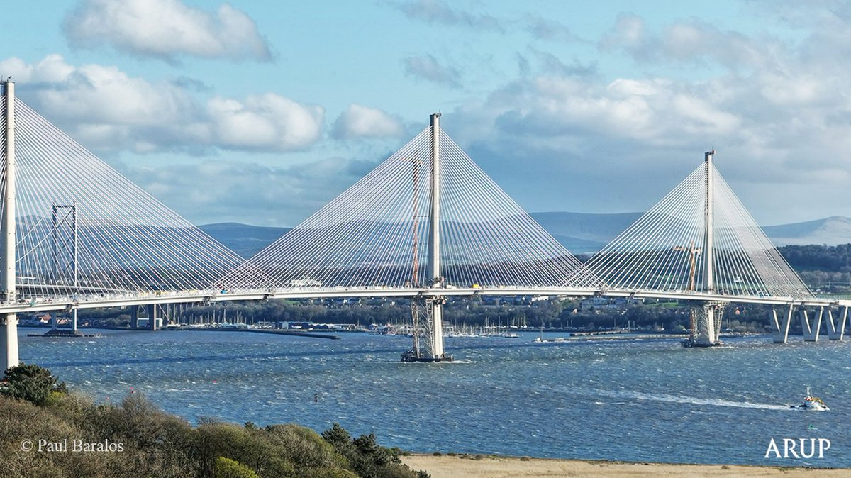 The record breaking queensferrycrossing is the biggest infrastructure project in scotland for a generation http ow ly eftr30ekrru pic twitter com