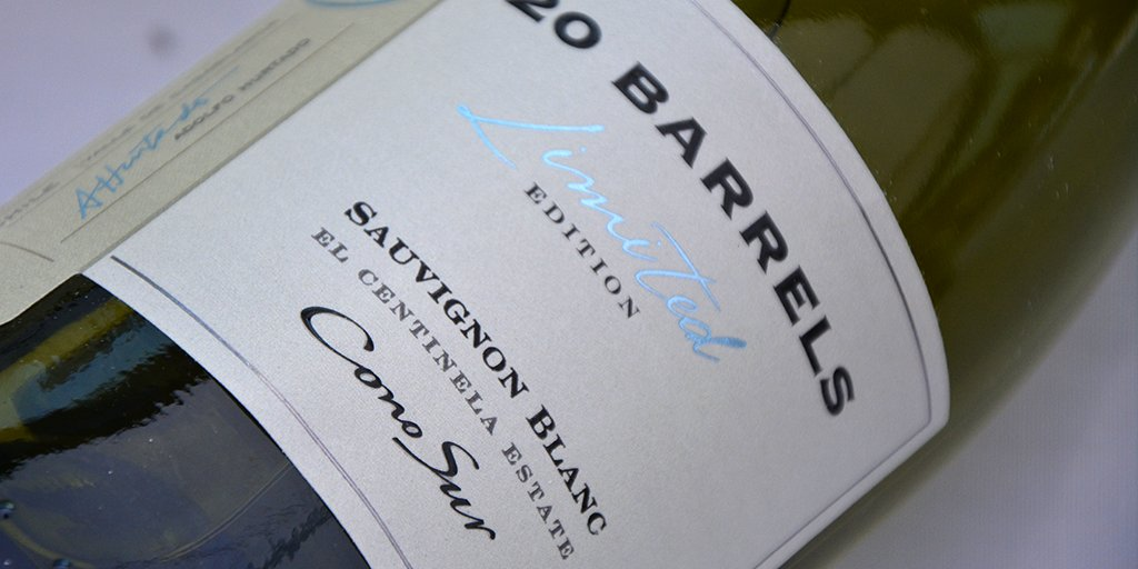 #NewRelease   Hand-picked grapes from #Casablanca Valley. Mineral, fresh, salty and already available! #20Barrels #SauvignonBlanc<br>http://pic.twitter.com/DoW0Y9XNM9