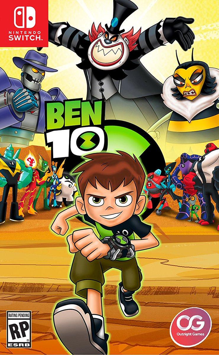 Este ttulo de Ben 10 ya est de camino a Nintendo Switch