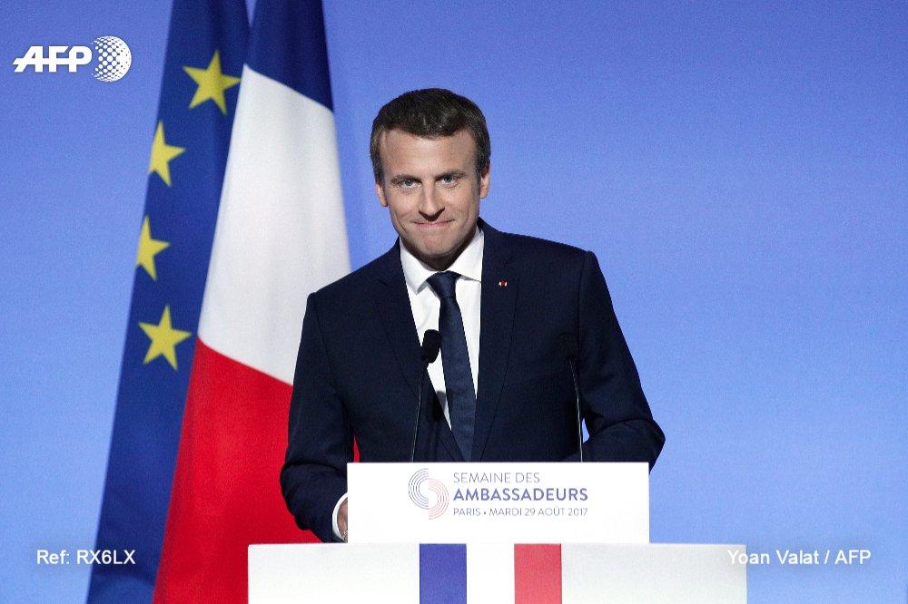 El presidente francés, Macron, califica de 'dictadura' el régimen de Maduro en Venezuela #AFP