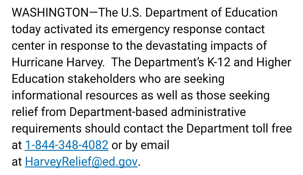 The U.S. Department of Education ...