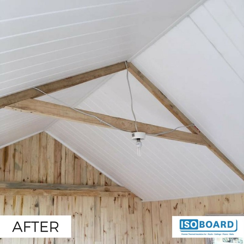 Isoboard On Twitter Example Of Isoboard Thermal Insulation Installation Isoboard Is Perfect For Exposed Applications And Its Paintable Https T Co Bajrow10v7