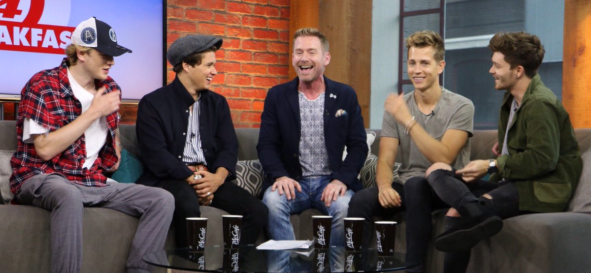 Our friends @TheVampsband dropped by this morning to talk their new two-part album and latest single!