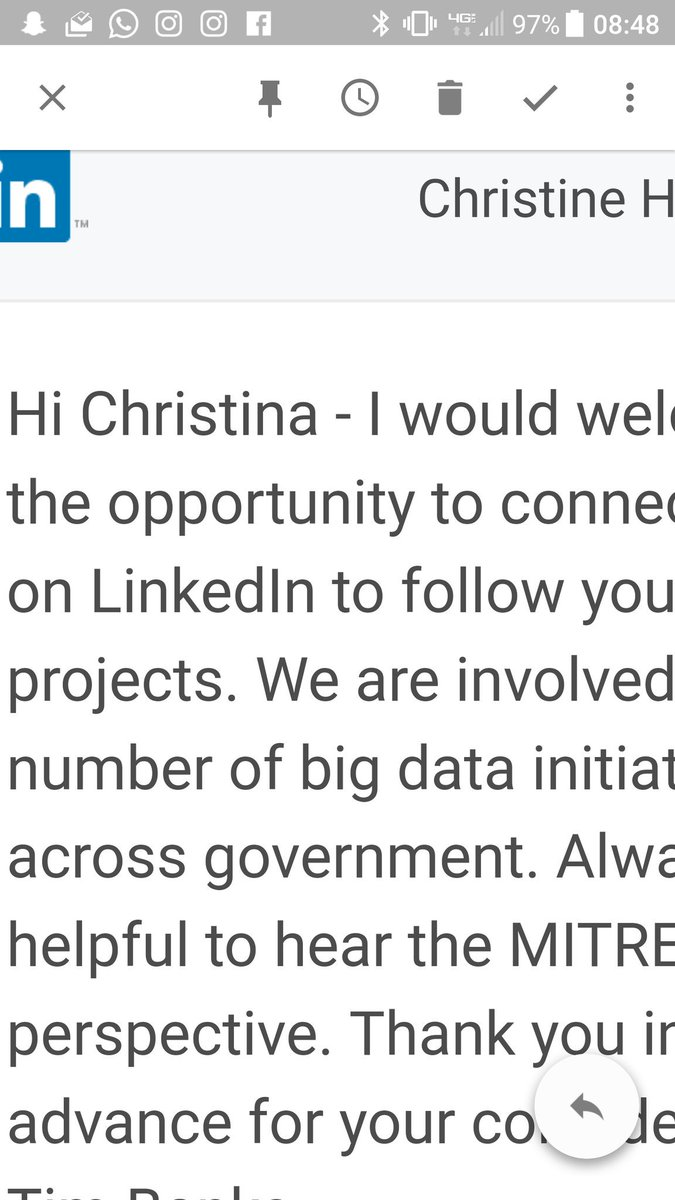 Christine Harvey LinkedIn Tip Always Add A Message To Request And Then Make Sure You Spell Their Name Right
