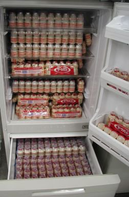 冷蔵庫の中にはちゃんと健康に良いものを入れておかないといけませんね https://t.co/8dEmoQdRsk