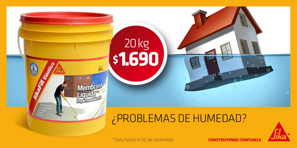 Media tweets by sika uruguay sikauruguay twitter for Productos para impermeabilizar terrazas transitables