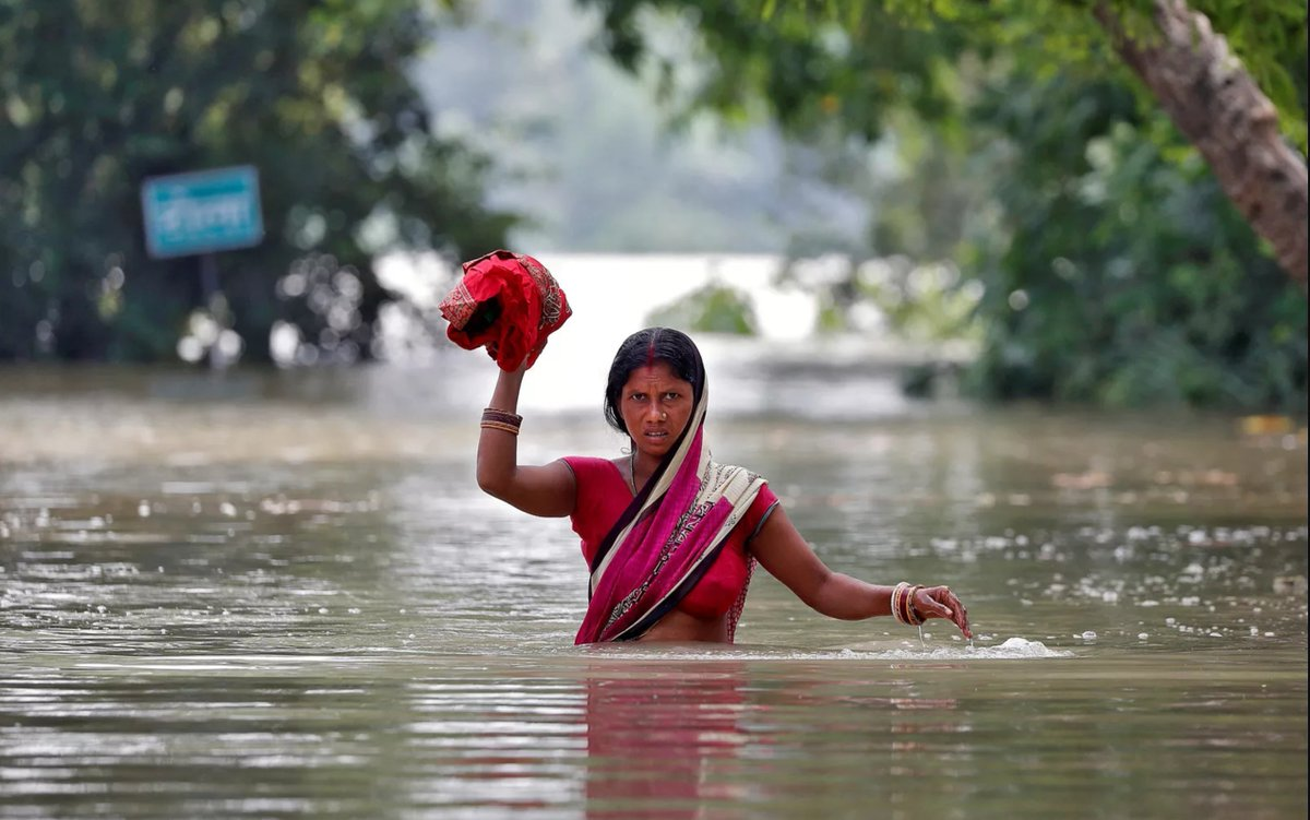 Devastating floods in India, Nepal, and Bangladesh have killed at least 1,200 people and displaced millions. https://t.co/v8aQhhtnDh