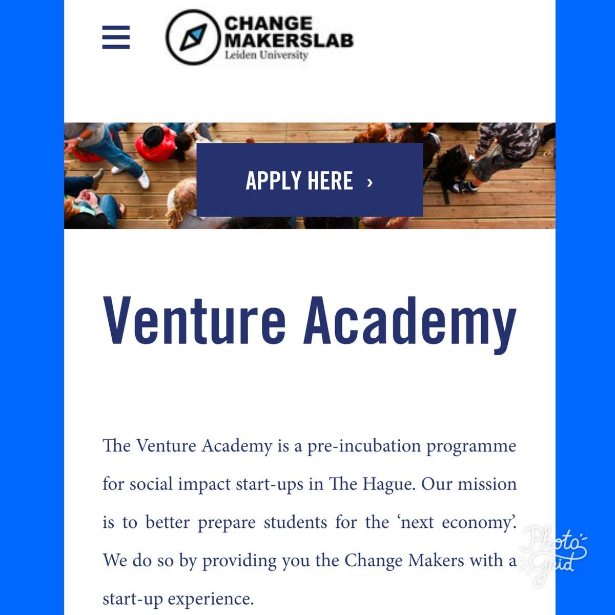Pieter Van Schie Ma On Twitter Are You A Futurepreneur Apply