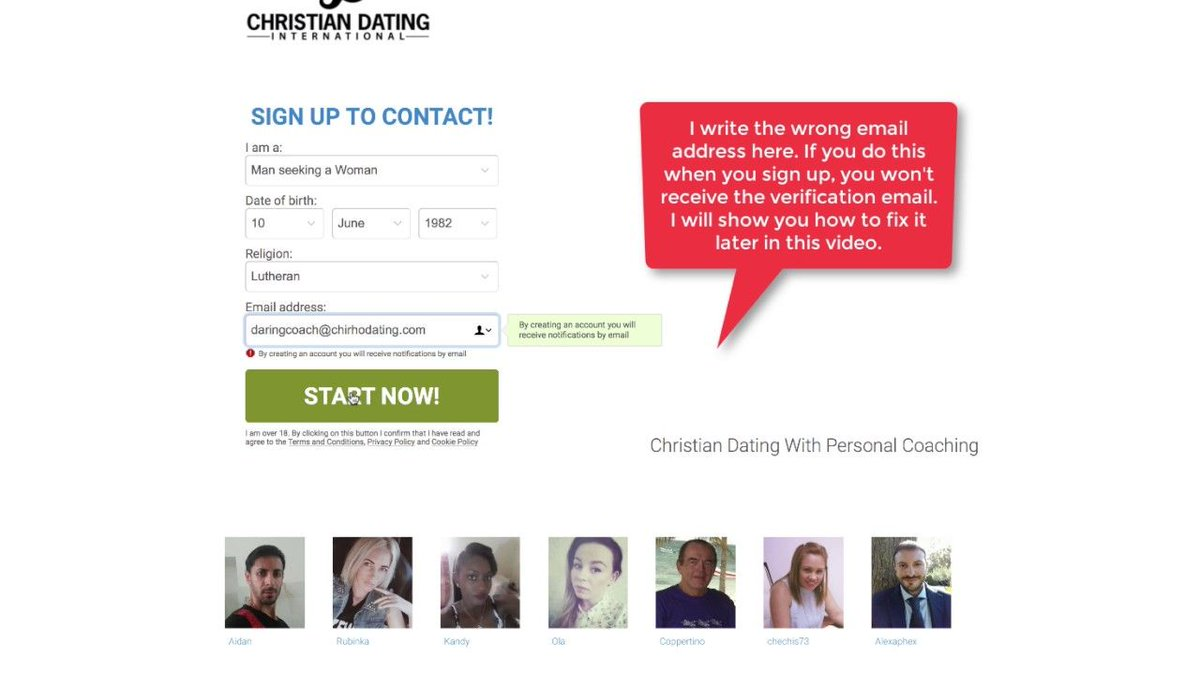 Christian dating love seek service