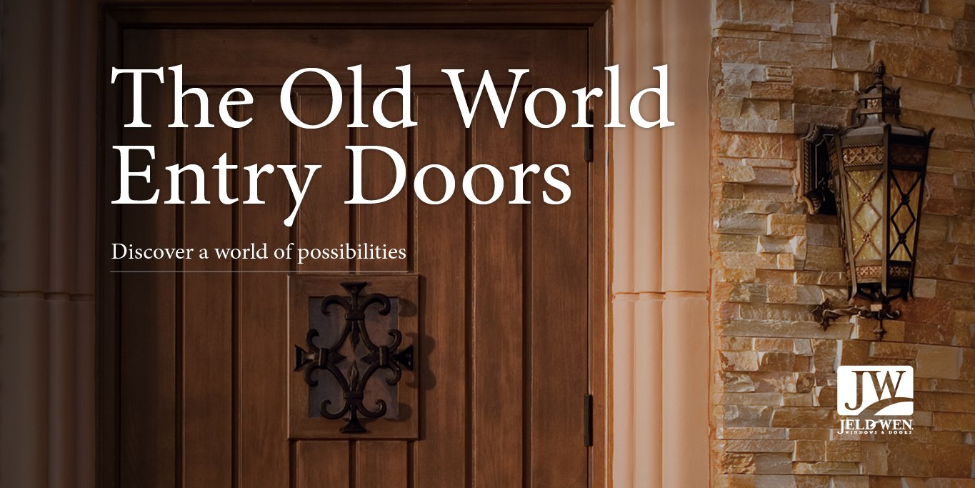 Jeld Wen On Twitter An Oldworld Entry Door Is The Beginning Of A