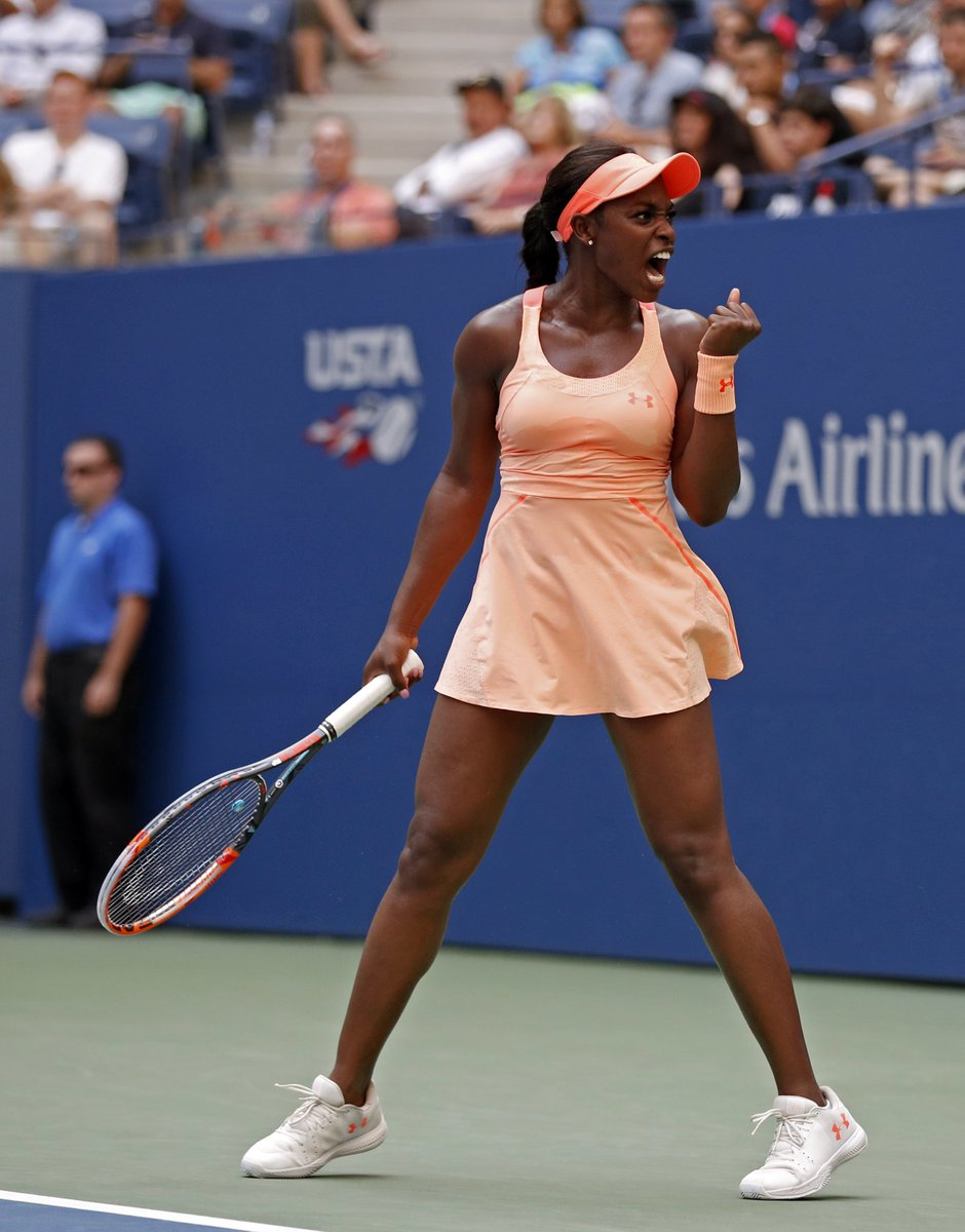 Sloane Stephens into the semifinals. The big summer continues (AP) https://t.co/CLRVahez13