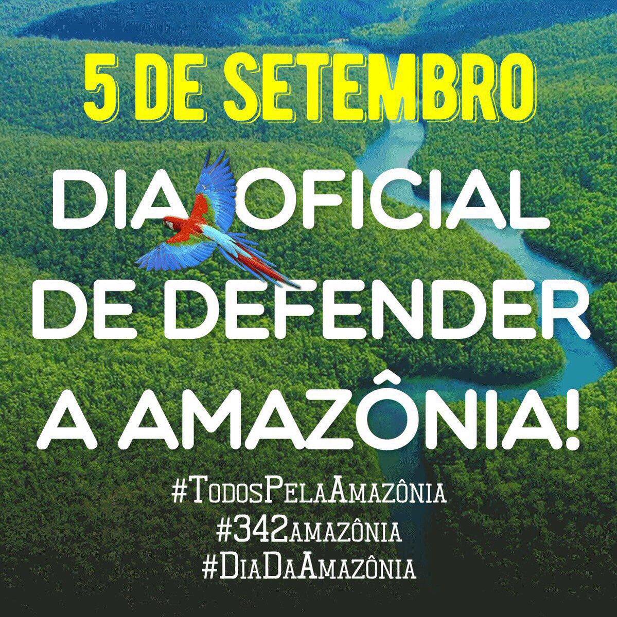 #todospelaamazônia