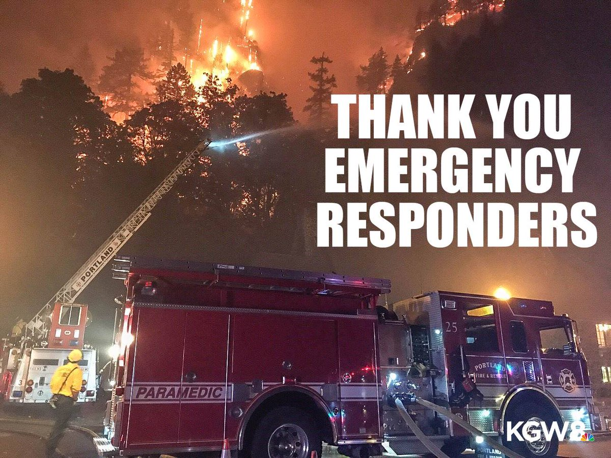 Thank you to all the firefighters and emergency crews who are battling the Eagle Creek Fire. #EagleCreekFire