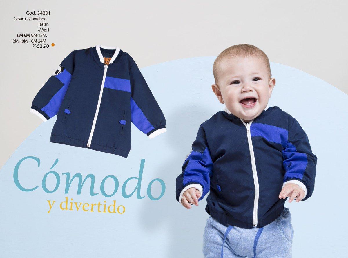 Porque nuestros engreidos de la casa ¡Se merecen lo Mejor! Una cómoda casaca para tenerlo siempre abrigado Una sonrisa y a jugar! #BabyModa pic.twitter.com/0shd3Cnt2g