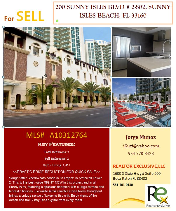 For investment property