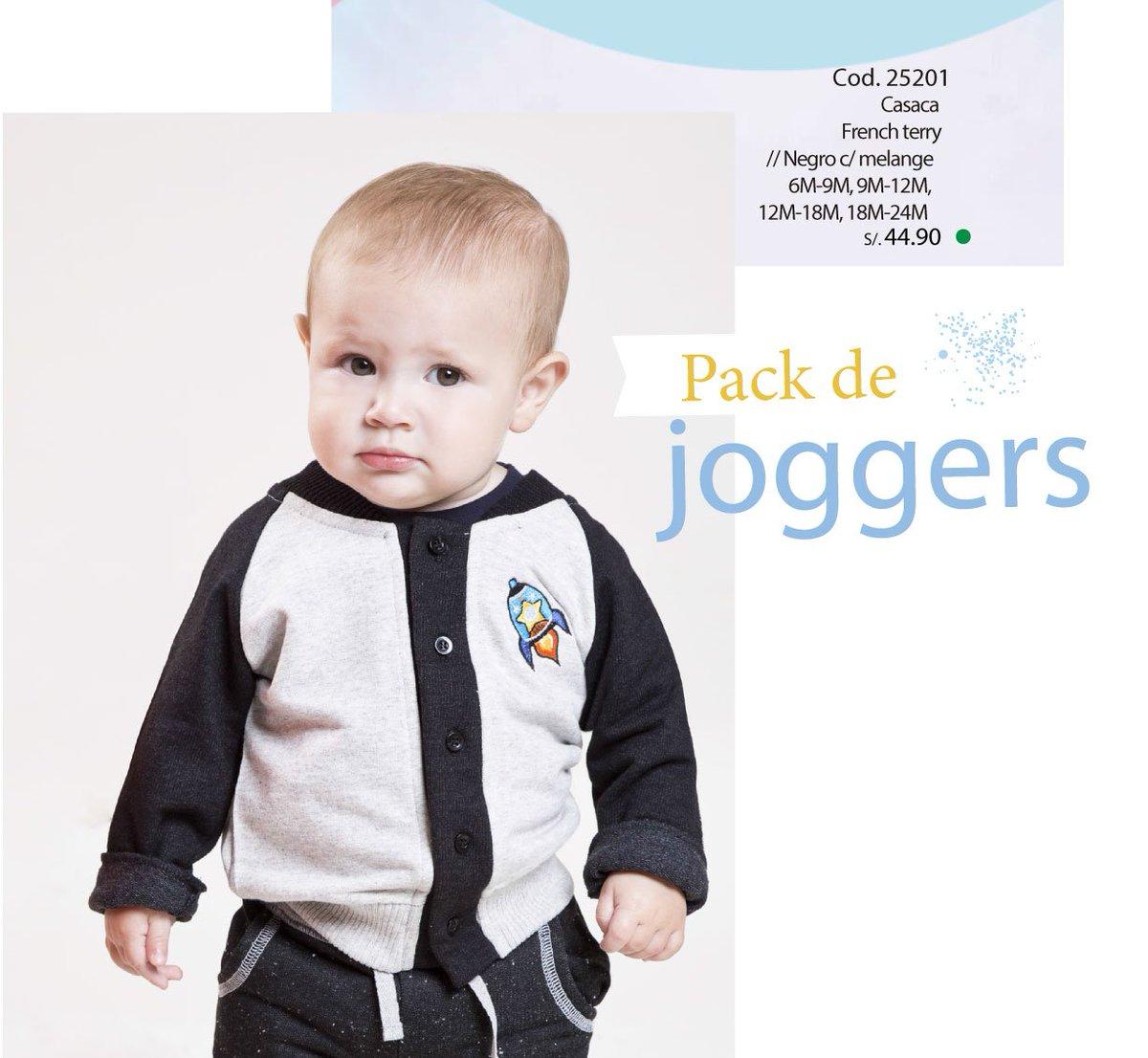 Un viaje al espacio para el pequeño del hogar  Un divertido y abrigador #packdeJogger #BabyModa pic.twitter.com/Xrb6QIsgZA