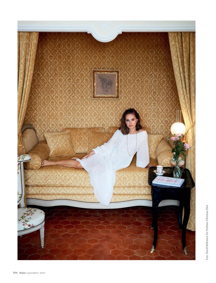 Scans de Natalie na edição de setembro da Flair Germany! 💕 Confira na galeria: nportman.com.br/galeria/thumbn…