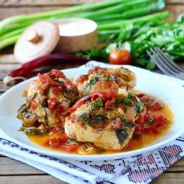 Рецепт курицы запеченной в духовке