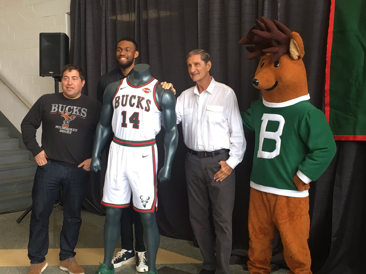 "Jimmy Carlton on Twitter "" Bucks president Peter Feigin Jabari"