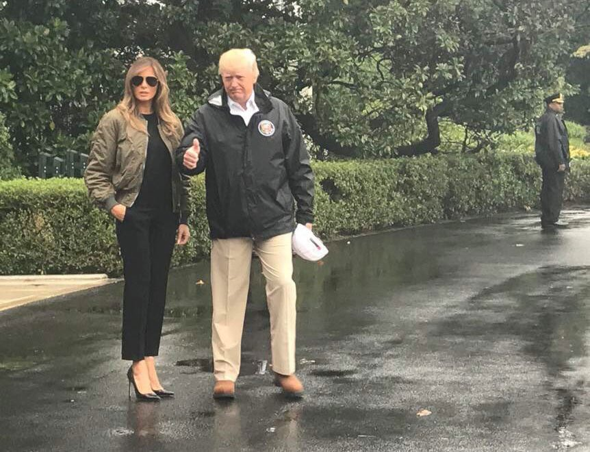 Who goes to a flood in heels? https://t.co/vqTmsbCd28