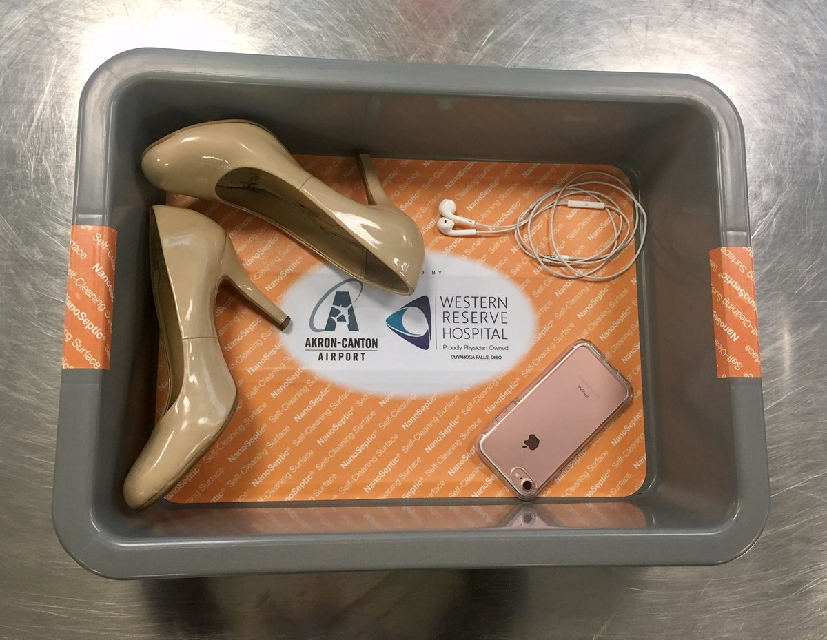 Germ-Cleaning TSA Bin Liners Introduced at Ohio Airport